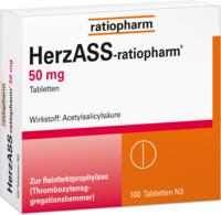 HERZASS-ratiopharm 50 mg Tabletten