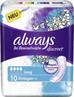 ALWAYS discreet Inkontinenz Binden long