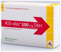 ASS elac 100 mg TAH magensaftresistente Tabletten